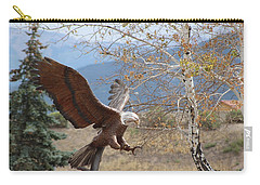 American Eagle In Autumn Carry-all Pouch