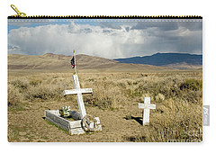 American Flag Grave Carry-all Pouch