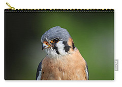 Carry-all Pouch featuring the photograph American Kestrel 5151801 by Rick Veldman