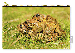 American Toad Western Brooke Pond, Grose M Carry-all Pouch