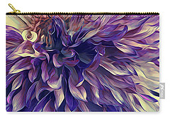 Amethyst Bloom Carry-all Pouch