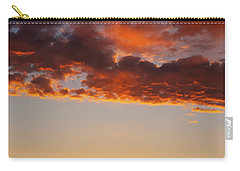 Carry-all Pouch featuring the photograph An Oklahoma Sunsrise by Rick Furmanek