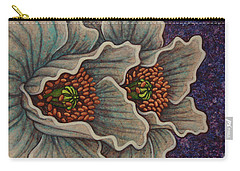 Carry-all Pouch featuring the painting Ancient Stargazers by Amy E Fraser
