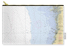 Anclote Keys To Crystal River Noaa Nautical Chart 11409 Carry-all Pouch