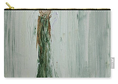 Angel In Green Carry-all Pouch