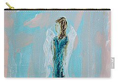 Angel With Character Carry-all Pouch