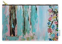 Angels In The Garden Carry-all Pouch