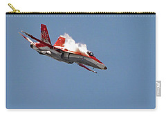 Carry-all Pouch featuring the photograph Angry Hornet by Brad Allen Fine Art