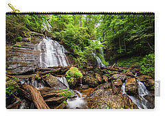 Carry-all Pouch featuring the photograph Anna Ruby Falls by Andy Crawford