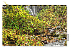 Carry-all Pouch featuring the photograph Anna Ruby Falls Stream by Meta Gatschenberger