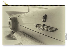 Carry-all Pouch featuring the photograph Antique Classic Car Vintage Effect by Rick Veldman