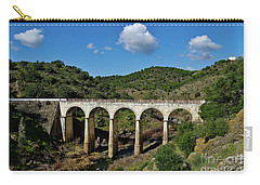 Antique Mertola's Bridge In Alentejo Carry-all Pouch