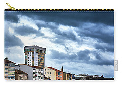 Carry-all Pouch featuring the photograph Apartment Buildings In Ourense by Eduardo Accorinti
