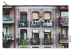 Apartments In Madrid Carry-all Pouch