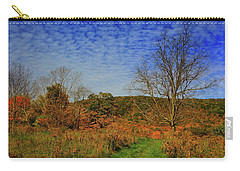 Carry-all Pouch featuring the photograph Appalachian Trail Massachusetts In The Fall by Raymond Salani III