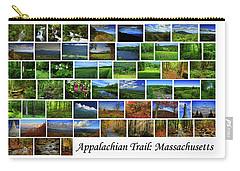 Carry-all Pouch featuring the photograph Appalachian Trail Massachusetts by Raymond Salani III