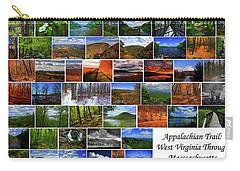 Carry-all Pouch featuring the photograph Appalachian Trail West Virginia Through Massachusetts by Raymond Salani III