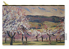 Apple Blossom Geuldal Carry-all Pouch