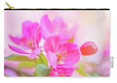 Apple Blossoms Colorful Glow Carry-all Pouch
