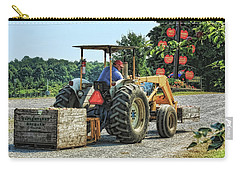 Carry-all Pouch featuring the photograph Apple Orchard by Tatiana Travelways