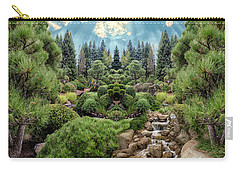 Carry-all Pouch featuring the photograph Approaching Eden by Mike Braun