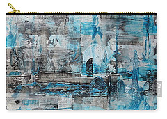 Carry-all Pouch featuring the painting Arctic by 'REA' Gallery
