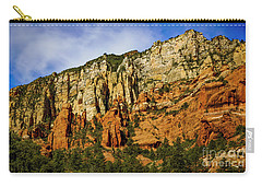 Carry-all Pouch featuring the photograph Arizona Morning by Jon Burch Photography