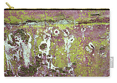 Carry-all Pouch featuring the photograph Art Print Patina 51 by Harry Gruenert