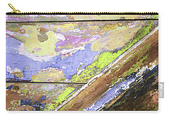 Carry-all Pouch featuring the photograph Art Print Patina 56 by Harry Gruenert