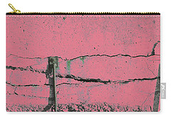 Carry-all Pouch featuring the photograph Art Print Walls 50 by Harry Gruenert