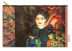 Artistic Frida Kahlo Stream  Carry-all Pouch