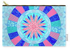 Q Is For Quilt And Quill Carry-all Pouch