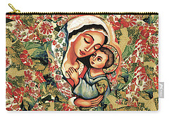 The Blessed Mother Carry-all Pouch