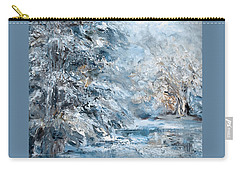 In The Snowy Silence Carry-all Pouch