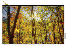 Carry-all Pouch featuring the photograph As The Leaves Turn  by Edmund Nagele