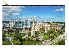Carry-all Pouch featuring the photograph Ascension Columbia St. Mary's Hospital by Randy Scherkenbach
