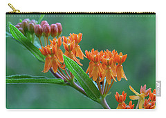 Carry-all Pouch featuring the photograph Asclepias Tuberosa by Dale Kincaid