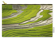 Asian Rice Field Carry-all Pouch