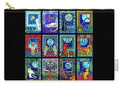 Astrology Cat Zodiacs Carry-all Pouch