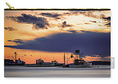 Carry-all Pouch featuring the photograph At Anchor At Lookout Point by Rick Berk
