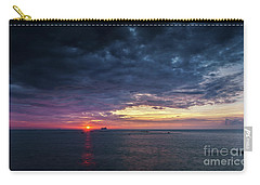 Carry-all Pouch featuring the photograph Atlantic Ocean Sunset by Pablo Avanzini