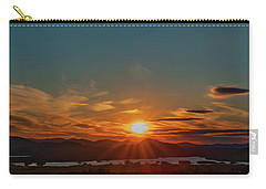 Attean Pond Sunset Carry-all Pouch