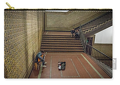 Carry-all Pouch featuring the photograph Audience by Alex Lapidus