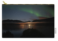 Aurora Northern Polar Light In Night Sky Over Northern Norway Carry-all Pouch