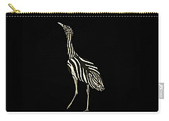 Australian Bustard Zebra 1 Carry-all Pouch