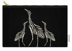 Australian Bustard Zebra 2 Carry-all Pouch