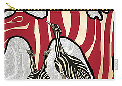 Australian Bustard Zebra 5 Carry-all Pouch