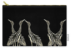 Australian Bustard Zebra 7 Carry-all Pouch