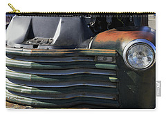 Auto With Rust Patina Carry-all Pouch