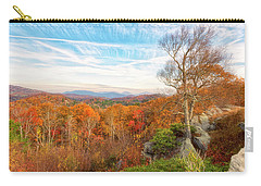 Carry-all Pouch featuring the photograph Autumn Afternoon by Russell Pugh